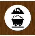 mining industry design vector image