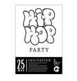 rap battle concert hip-hop party music vector image vector image