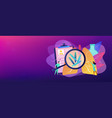 tuberculosis concept banner header vector image