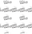 vintage photo cameras seamless pattern vector image vector image