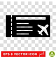Airticket Eps Icon vector image
