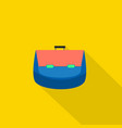 bag icon set of great flat icons design concepts vector image vector image