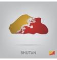 bhutan vector image