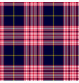 glen or houndstooth plaid pattern vector image vector image