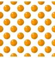 Orange pattern seamless vector image vector image