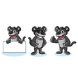 Panther Mascot pose vector image
