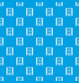 radar pattern seamless blue vector image vector image