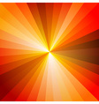 Red Hot Light Ray Abstract Background vector image vector image