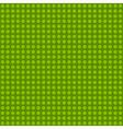 seamless green polka dot pattern vector image