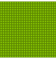 Seamless green polka dot patternn vector image