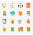 Shopping e-commerce icon vector image vector image