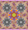 cute floral background seamless pattern in small vector image