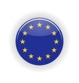 European Union icon circle vector image vector image