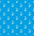 french press coffee maker pattern seamless blue vector image vector image
