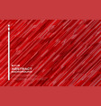 gradient red futuristic strip line pattern vector image