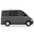 minivan car body type vector image vector image