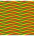 pattern waves rasta vector image