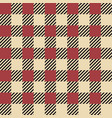 plaid seamless pattern classic scottish cage vector image vector image