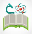 science book vector image vector image