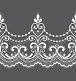 alencon french seamless lace pattern openw vector image vector image