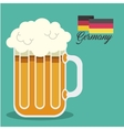 beer drink ale germany vector image