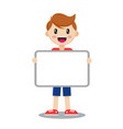 boy with board vector image