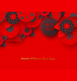 chinese new year holiday design vector image vector image