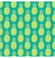 Pineapple background Pineapple seamless pattern vector image vector image