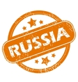 Russia grunge icon vector image vector image
