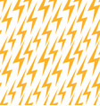 seamless texture with a flat lightning background vector image vector image