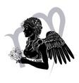 virgo zodiac horoscope astrology sign vector image