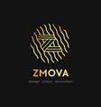 z letter logo concept graphic alphabet symbol for vector image vector image