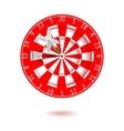 Classic Darts Board vector image