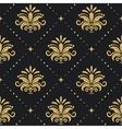 Floral royal background vector image