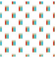 book pile pattern seamless vector image vector image
