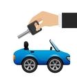 buy a car vector image