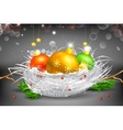 Colorful Christmas Bauble vector image vector image