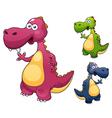 Dino vector image vector image