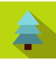 Spruce icon flat style vector image