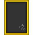 board menu vector image