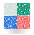 abstract colorful seamless patter vector image vector image