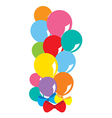 Balloons Bunch vector image