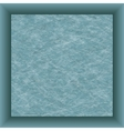 blue paper square and shadow vector image vector image