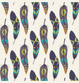 Colorful seamless ethnic pattern with decorative