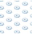 isometric cogwheels background outline vector image