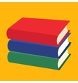 Nice Books flat icons vector image vector image