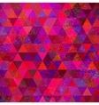 Retro Triangles Background vector image vector image