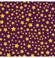 Seamless pattern with star vector image vector image