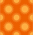 seamless texture with the sun background for your vector image vector image