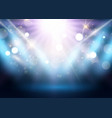 spotlight display background vector image vector image